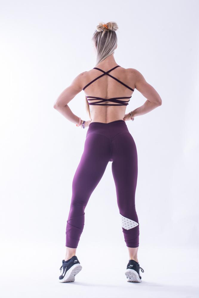 a8876d67624 Nebbia Asymmetrical 7 8 Leggings Fitness Factory