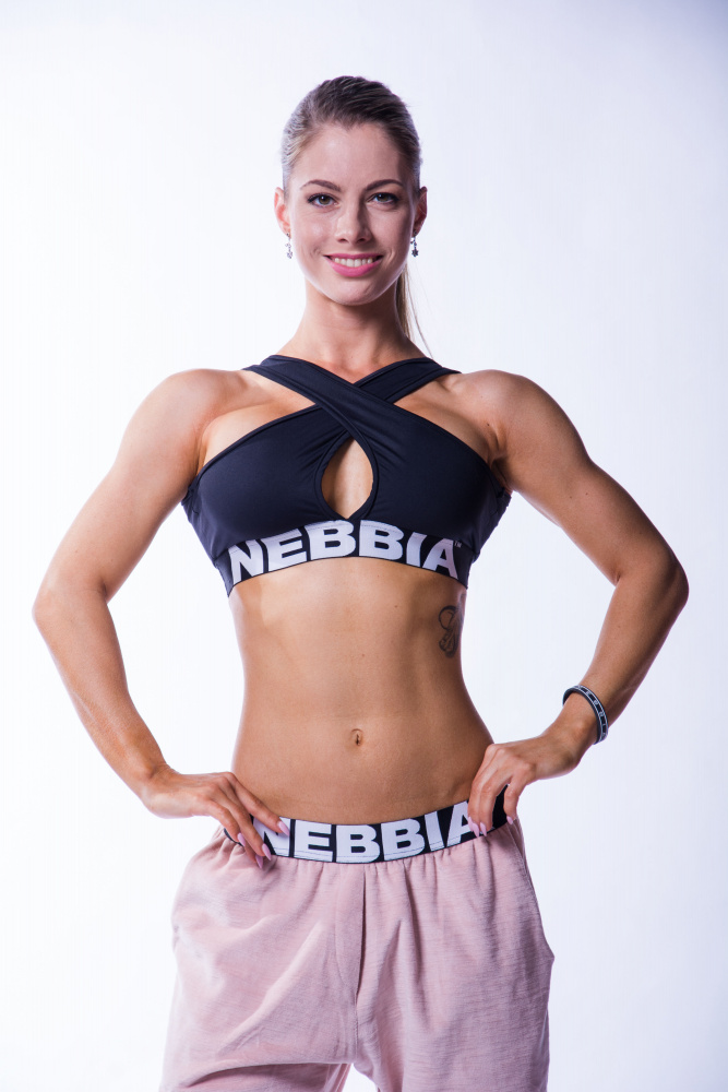 6d4376347 Nebbia Crossed Sports Bra - Fitness Factory